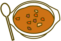 カレーのイラスト